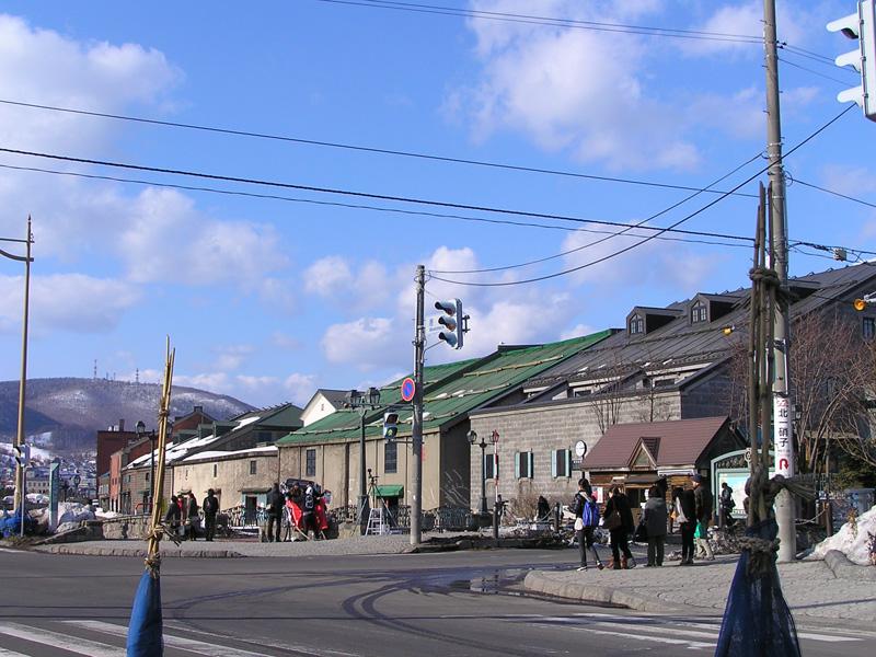 震災後、観光客が減った小樽運河