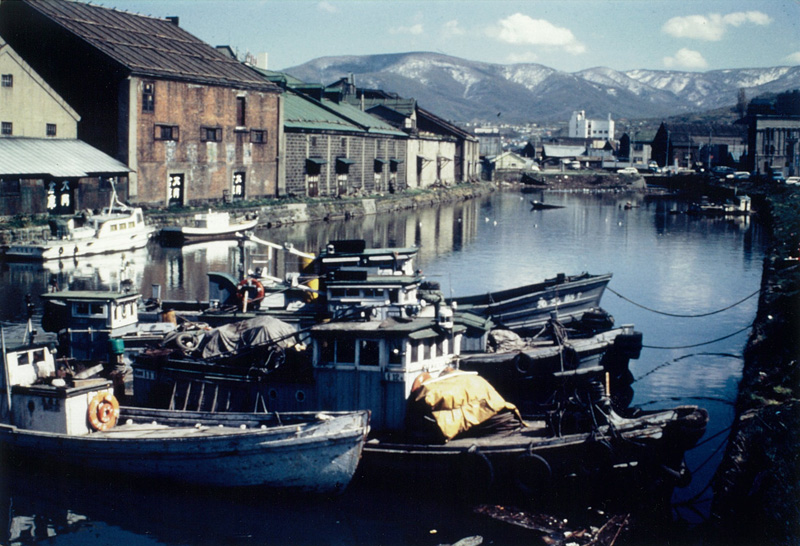当時の小樽運河