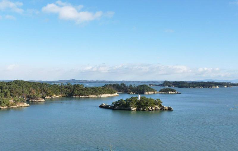 多聞山から松島湾を望む <写真:©チガカゼ>