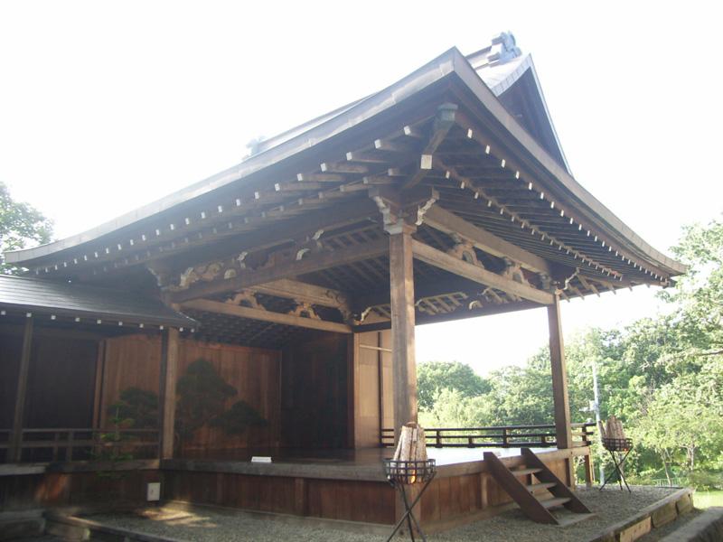 旧岡崎家能舞台 1985年小樽市指定歴史的建造物