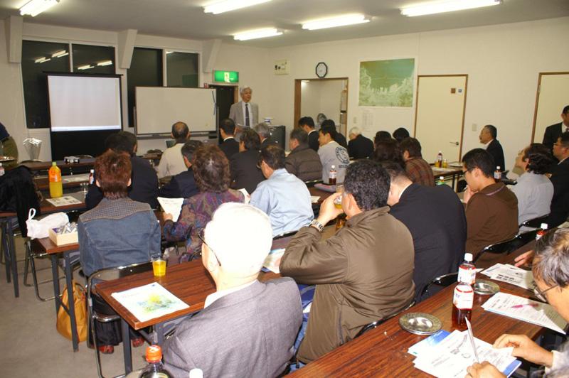 小樽市漁協高島集会所で開催した水産経営部会10月例会の様子