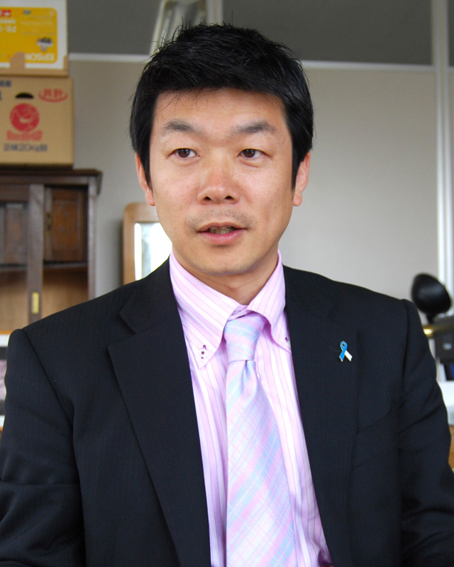 手宮公園桜再生プロジェクト 代表 三島 真一郎 氏