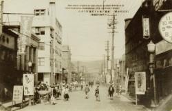 商港の小樽 繁栄を極むる稲穂町の中心