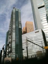 汐留のビル街