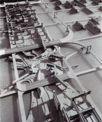 メタボリズムの未来都市展「黒川紀章 中銀カプセルタワービル1972 撮影大橋富夫」