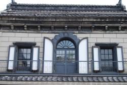 旧岩永時計店の窓