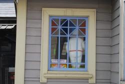 洋風建築の窓枠デザイン