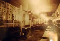 昭和初期の店内