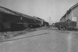 完成した二号埠頭貨物引込み線(昭和25(1950)年)